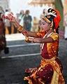 A community dance for Diwali festival Hindu culture religion rites rituals sights.jpg
