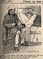 A doctor trying to reassure a patient by informing him that Wellcome V0011452.jpg