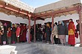A large number of voters with their voter identity card in a queue at a polling booth near Thiksey Monastery in Ladakh during the 5th and final phase of General Election-2009, in J&K on May 13, 2009.jpg