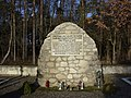 A monument in memory of 185 Polish civilians victims of the German Nazi massacre in Sochy June 1, 1943, Poland.jpg