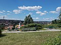 A picnic spot and viewpoint, Bástya Street, Eger, 2016 Hungary.jpg