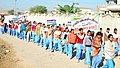 A rally on Right to Education at the Bharat Nirman Public Information Campaign, at Dharsul Kalan, District Fatehabad, in Haryana on December 19, 2012.jpg