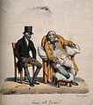 A torpid patient claims to his physician that his debility i Wellcome V0011752.jpg