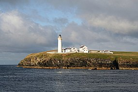 A western view of the Cantick Head lighthouse - geograph.org.uk - 955911.jpg