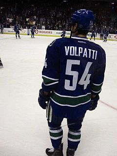 Aaron Volpatti Canadian ice hockey player