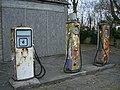Abandoned petrol station, Steeple Ashton - geograph.org.uk - 729264.jpg
