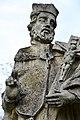 Abda, Nepomuki Szent János-szobor 2021 13.jpg