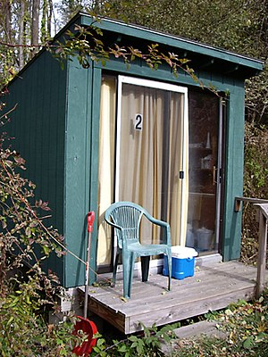 The Abode of the Message - Meditation retreat hut, for individual spiritual retreats