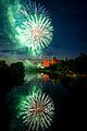 Abschluss Feuerwerk Volksfest Aschaffenburg 2014 (14560701095).jpg