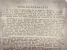 Club Deportivo Oriente Petrolero - Wikipedia, la enciclopedia libre