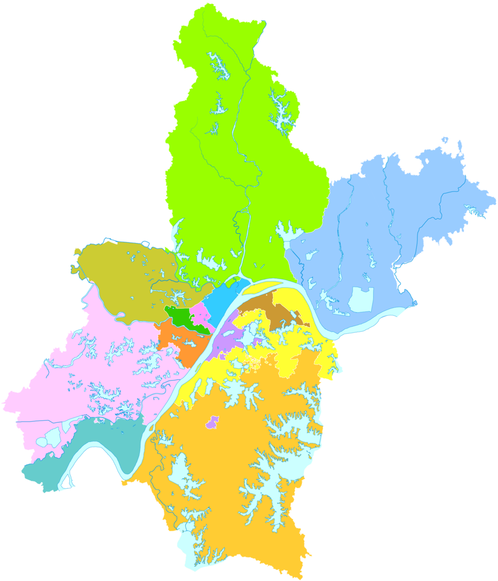 Administrative Division Wuhan