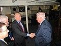 Admiral Allen greets Ambassador Susman aboard the HQS Wellington (4131242947).jpg