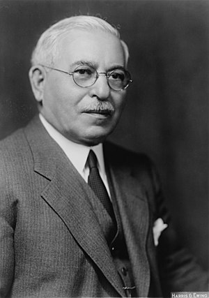 Adolph J. Sabath - Image: Adolph J. Sabath cph.3c 27913