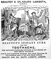 Advert for Beaufoy & Co., 1840. Wellcome L0019836.jpg