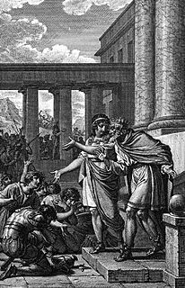 Ancient Greek mythological ruler of the Myrmidons and judge of the dead