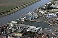 Aerial of the Alexandra Dock in Kings Lynn - Norfolk UK (45220994314).jpg