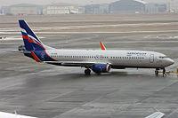 VP-BON - B738 - Aeroflot