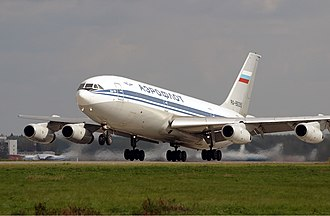 Ilyushin Il-86 - An Aeroflot Il-86 at Sheremetyevo International Airport in 2003