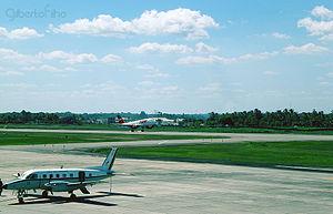 Porto Seguro Airport - Image: Aeroporto de Porto Seguro