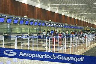 José Joaquín de Olmedo International Airport Ecuatorian airport serving Guayaquil