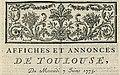 Affiches et annonces de Toulouse 7 juin 1775.jpg