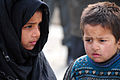 Afghan children show an expression of confusion (4297780903).jpg