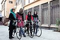 Afghanistan Women's Cycling Team 02.jpg