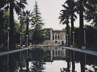 Islamic architecture - Afif-Abad Garden, Shiraz