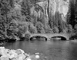 Yosemite Valley Bridges - Ahwanee Bridge