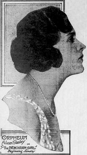 Aileen Stanley - Image: Aileen Stanley Aug 1921 Duluth Herald