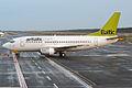 Air Baltic, YL-BBQ, Boeing 737-522 (16456164295).jpg