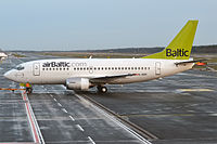 YL-BBQ - B735 - Air Baltic