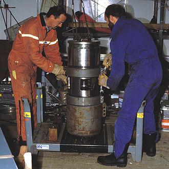 Seismic source - An air gun seismic source (30 litre)
