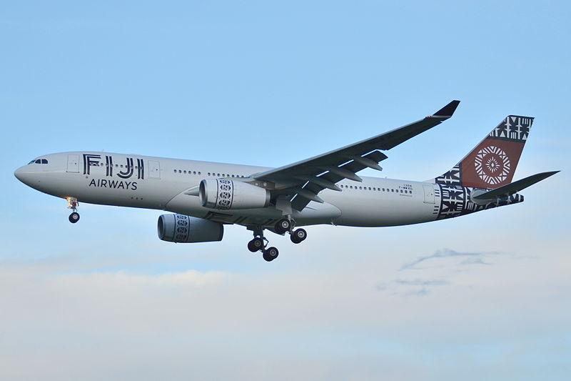 File:Airbus A330-200 Fiji Airways (FJI) F-WWKO - MSN 1394 - Will be DQ-FJT (10296309473).jpg