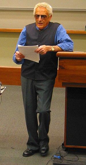 A. James Gregor - A. James Gregor lecturing at UC Berkeley in 2004