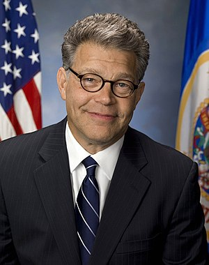 English: Al Franken, Senator from Minnesota