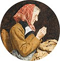 Albert Anker Sitzende Grossmutter beim Flicken.jpg