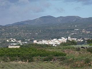 Alborache Municipality in Valencian Community, Spain