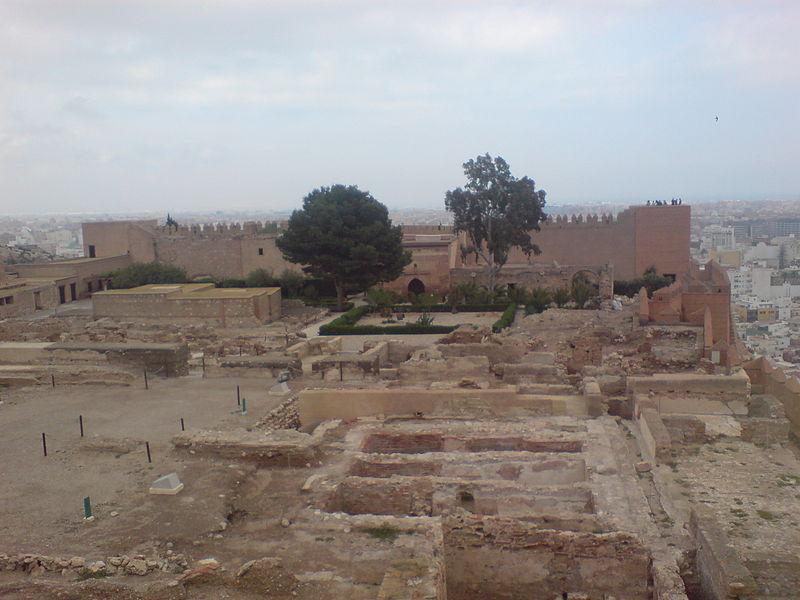 File:Alcazaba of Almeria - plaza in ruins.jpg