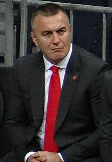 Aleksandar Jovančević Serbian strength coach and wrestler