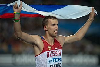 2001 World Youth Championships in Athletics - Aleksey Dmitrik of Russia won the high jump.