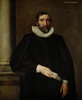 Alexander Henderson (theologian) - Alexander Henderson