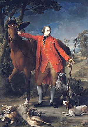 Jane Gordon, Duchess of Gordon - Jane's husband, Alexander Gordon, 4th Duke of Gordon, portrayed by Pompeo Batoni (1764).