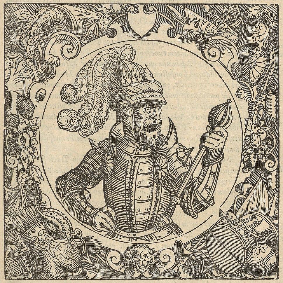 Algierd. Альгерд (A. Guagnini, 1578)