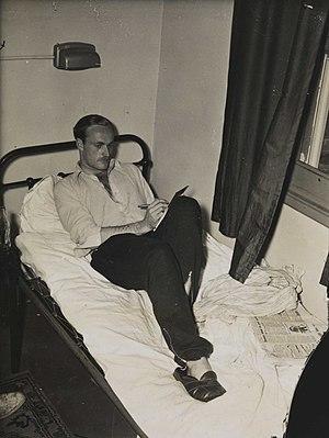 Alastair McCorquodale - Image: Alistair Mc Corquodale in the Olympic Village, London 1948