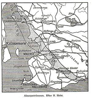 Alnarpsströmmen - Map of Alnarpsströmmen