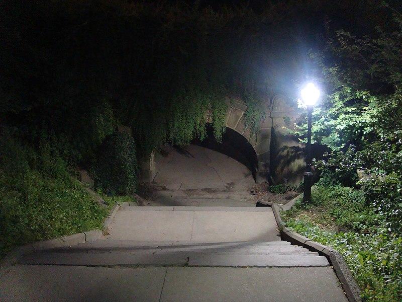 File:Alone in the Dark, Central Park Trefoil Arch - panoramio.jpg DescriptionAlone in the Dark, Central Park Trefoil Arch