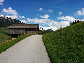 Alpbach - Typical barn in Alpbach