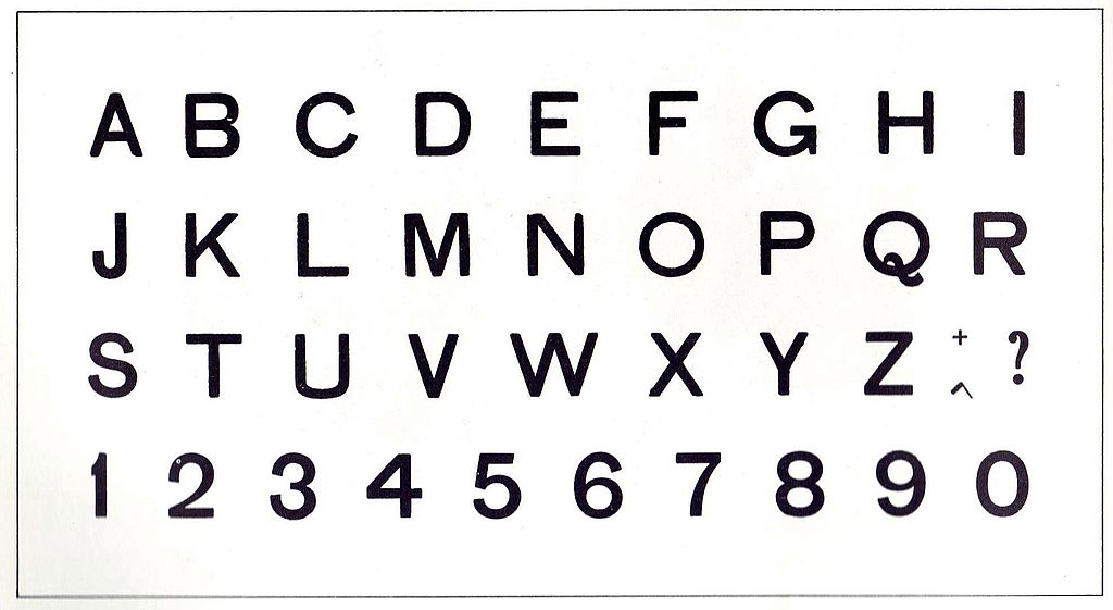 Alphabet Charts: Alphabet board.jpg - Wikimedia Commons,Chart