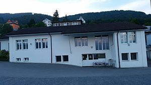 Arabs in Switzerland - Mosque Al-Shems in Rebstein